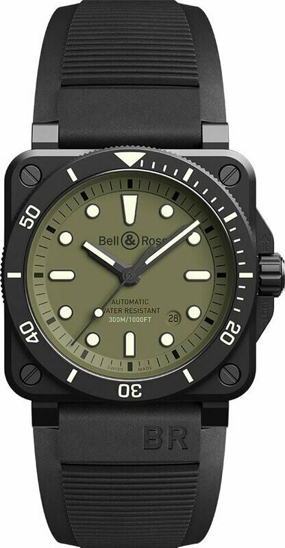 Bell & Ross BR 03-92 Diver Military BR0392-D-KA-CE/SRB