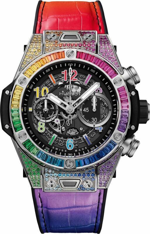Hublot Big Bang Unico Titanium Rainbow 411.NX.1117.LR.0999