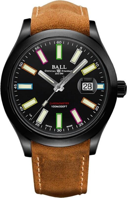 Ball Engineer II Rainbow NM2028C-L28CJ-BK