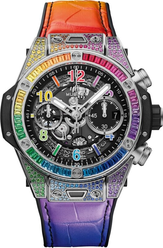 Hublot Big Bang Unico Titanium Rainbow 42mm