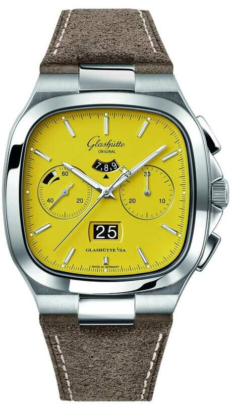 Glashütte Original Seventies Chronograph Panorama Date Sunny Yellow