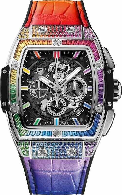 Hublot Spirit of Big Bang Titanium Rainbow