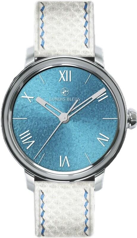 Lundis Bleus Contemporaines Lagoon Blue Roman Numerals