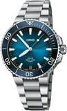 Oris Aquis Date Calibre 400 41.5mm Blue Dial
