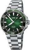 Oris Aquis Date Calibre 400 41.5mm Green Dial