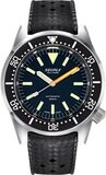 Squale 1521 Militare Polished Steel on Strap