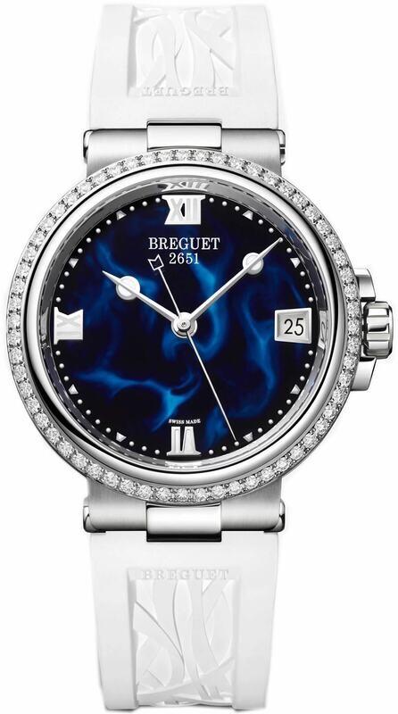 Breguet Marine Dame 9518 9518ST/E2/584/D000