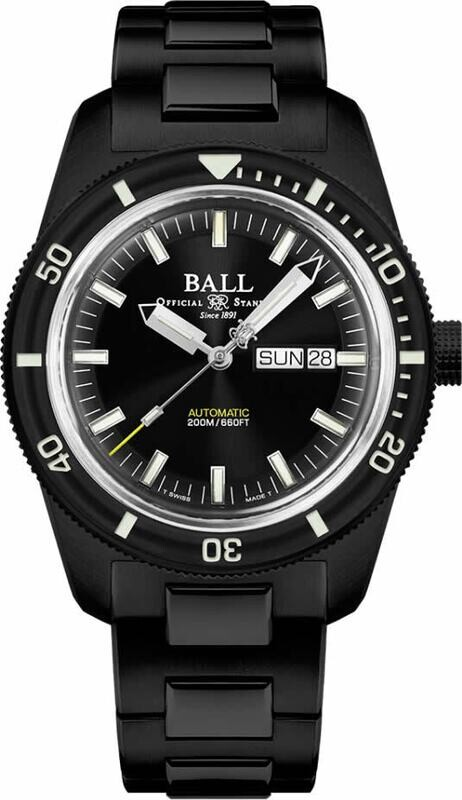 Ball Engineer II Skindiver Heritage Full Black DM3208B-S4-BK