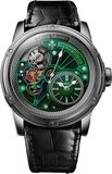 Louis Moinet Tempograph Chrome Stainless Steel Green