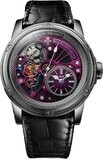 Louis Moinet Tempograph Chrome Stainless Steel Purple