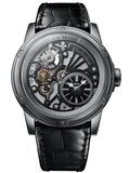 Louis Moinet Tempograph Chrome Stainless Steel Black LM-50.10.50