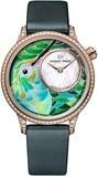 Jaquet Droz Petite Heure Minute Smalta Clara Hummingbird