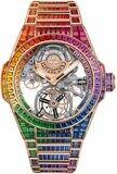 Hublot Big Bang Integral Tourbillon Rainbow King Gold