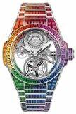Hublot Big Bang Integral Tourbillon Rainbow White Gold