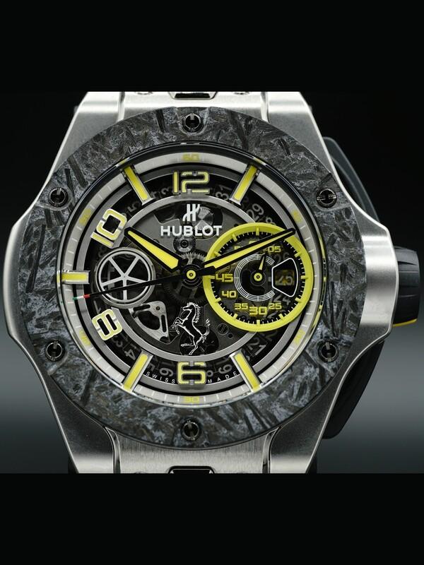 Hublot Big Bang Scuderia Ferrari 90th Anniversary Platinum 402.TQ.0129.VR