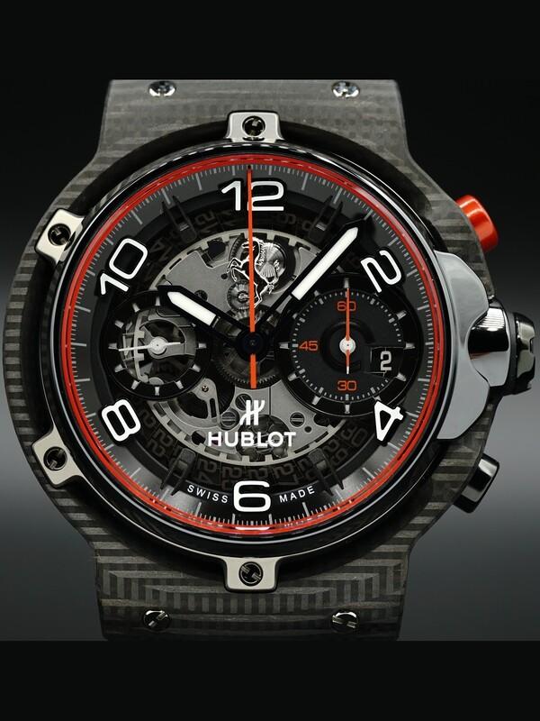 Hublot Classic Fusion Ferrari GT 3D Carbon 526.QB.0124.VR