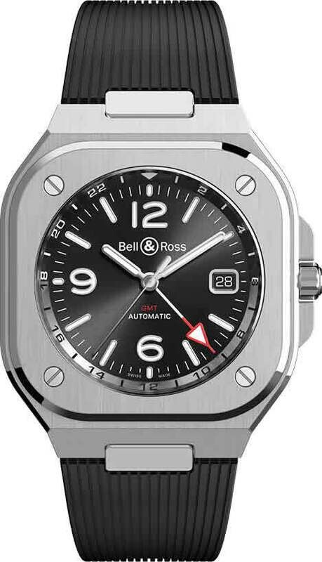 Bell & Ross BR 05 GMT on Strap