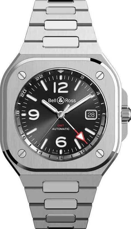 Bell & Ross BR 05 GMT on Bracelet