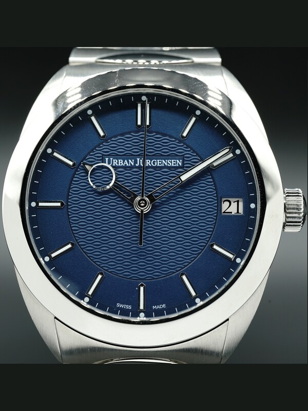 Urban Jürgensen One Date Blue Dial on Bracelet