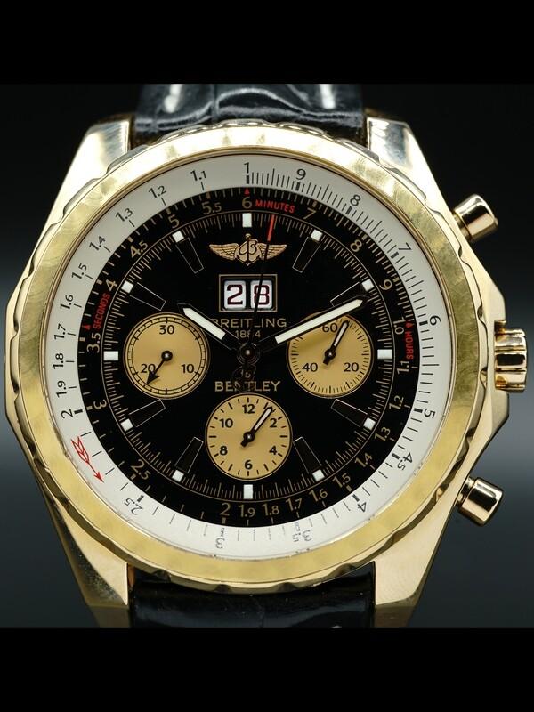 Breitling for Bentley 6.75 18K Gold H44363