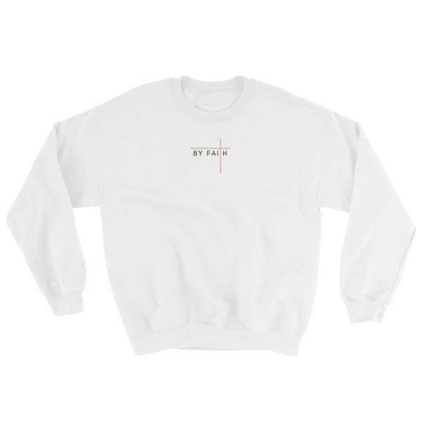 By Faith - Rose Sweatshirt