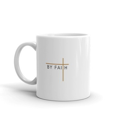 By Faith - Tan Mug