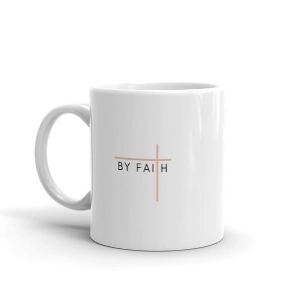 By Faith - Rose Mug