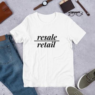 resale>retail