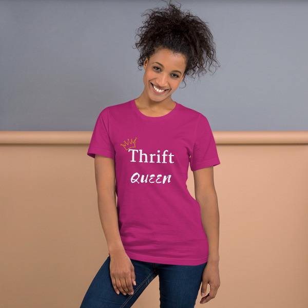thrift queen white