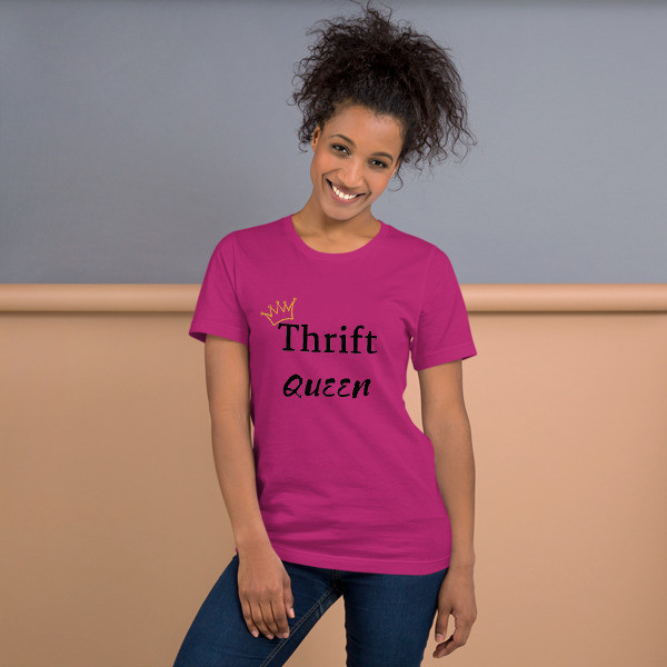 thrift queen black