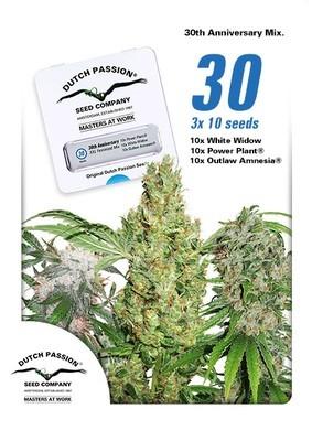 30th Anniversary Mix Feminised Seeds - 30