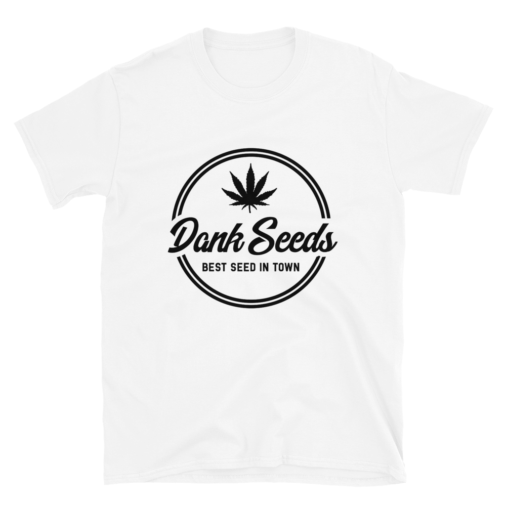 Dank Seeds - Black Logo Tee