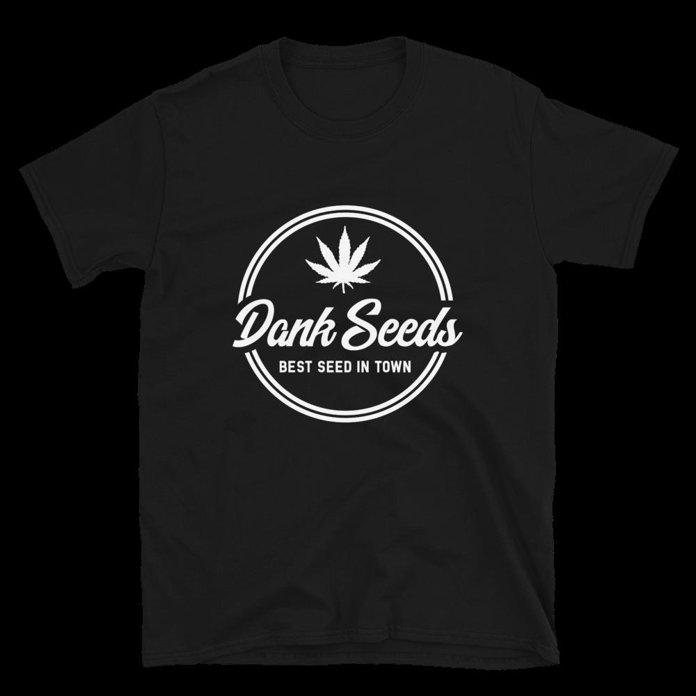 Dank Seeds - White Logo Tee
