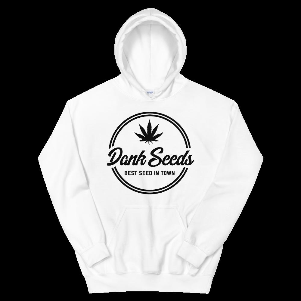 Dank Seeds - Black Logo Hoodie