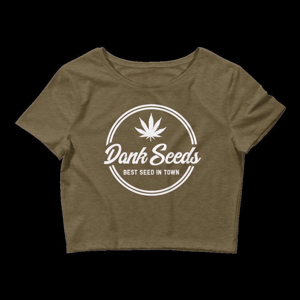 Dank Seeds - Women's Crop Tee