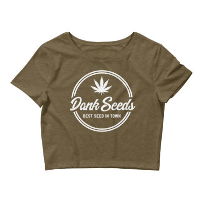 Dank Seeds - Women's Crop Tee
