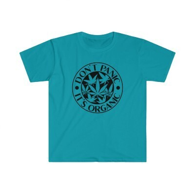 Don't Panic It's Organic - Softstyle T-shirt