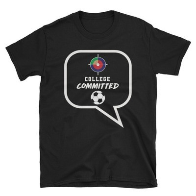 HFH SOCCER COLLEGE COMMITTED- Short-Sleeve Unisex T-Shirt