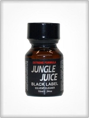 JUNGLE JUICE BLACK Label 10ml