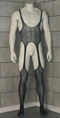 Open Front Back & Sides Bodysuit