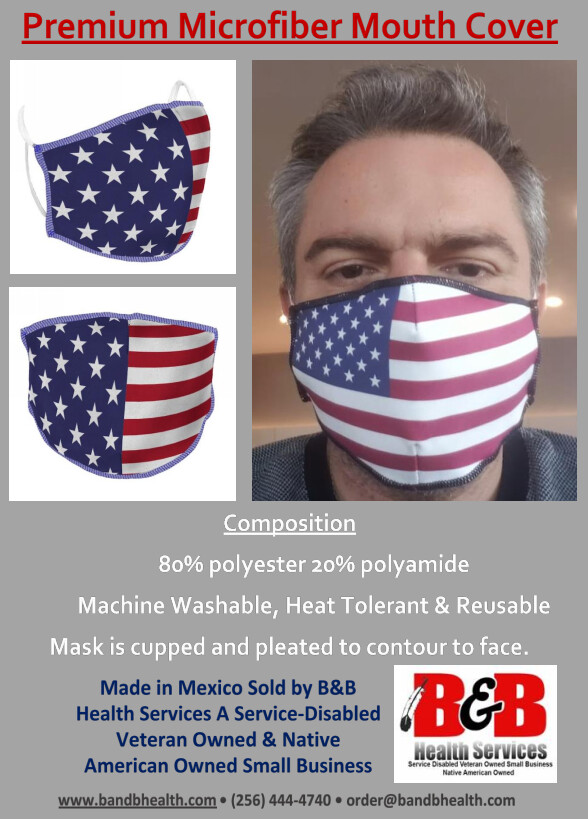 Premium Microfiber Mouth Cover