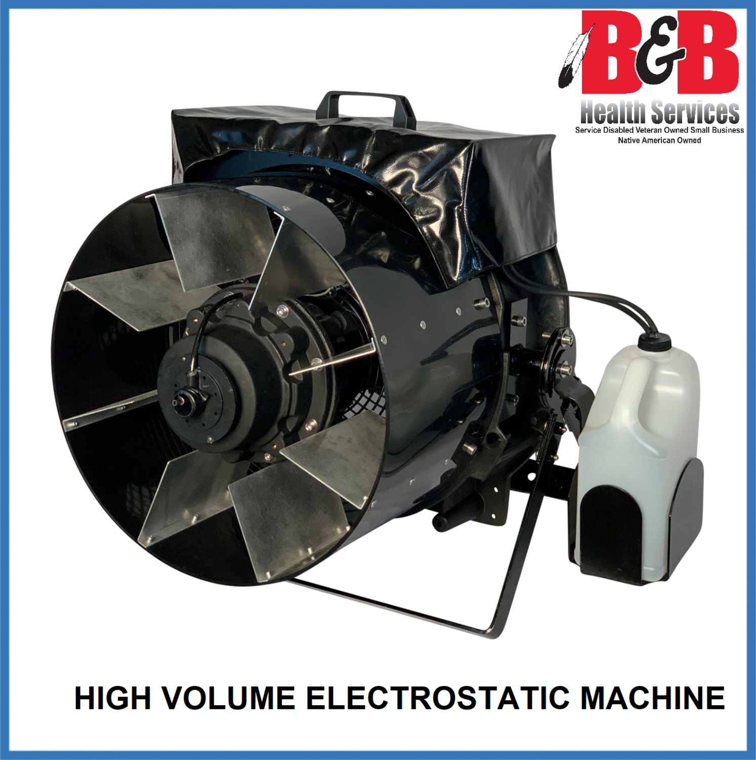 High Volume Electrostatic Machine