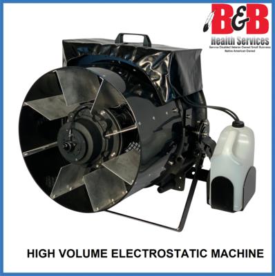 High Volume Electrostatic Machine