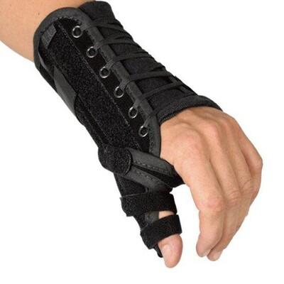 Breg Unviersal Thumb Lacer, RT, Universal Size
