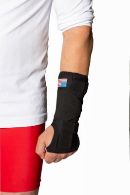 New Options Sports Wrist Brace, RT, Size Large
