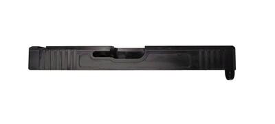 Glock 17 Slide / Side Cut /  Black Nitride / Stripped