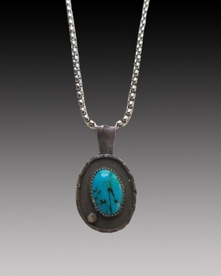 One More Turquoise Pendant