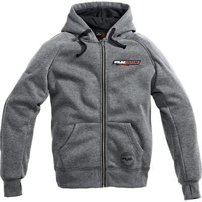 Sports Hoodie with Protectors 1.0 Gray XL