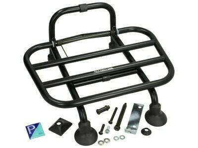 Багажник передний черный матовый Vespa Primavera/Sprint