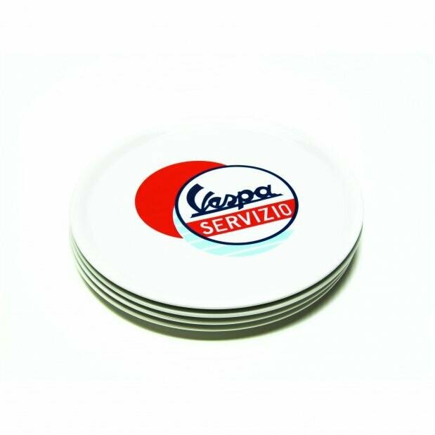 Тарелка для пиццы Vespa Servizio